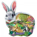 Puzzle  Sunsout-95165 Mary Thompson - Bunny Hollow