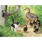 Puzzle   XXL Teile - Duck Inspector