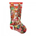 Puzzle   XXL Teile - Lori Schory - Kitty Stocking
