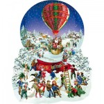 Puzzle   XXL Teile - Barbara Behr - Old Fashioned Snow Globe