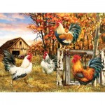Puzzle   XXL Teile - Rooster Farm