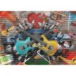 Puzzle  Gold-Puzzle-61437 Musical Graffiti