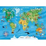 Puzzle  Nathan-86775 Map of the World