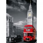 Puzzle  Nathan-87735 London: Roter Autobus
