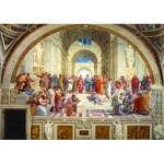 Puzzle  Art-by-Bluebird-60013 Raphael - The School of Athens, 1511