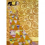 Puzzle  Art-by-Bluebird-60017 Gustave Klimt - The Waiting, 1905