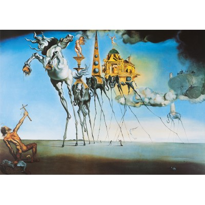 Puzzle Art-by-Bluebird-60107 Salvador Dalí  - The Temptation of St. Anthony, 1946