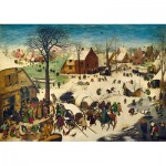 Puzzle  Art-by-Bluebird-Puzzle-60026 Pieter Bruegel the Elder - The Census at Bethlehem, 1566