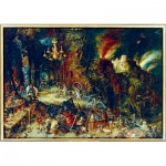 Puzzle  Art-by-Bluebird-Puzzle-60091 Jan Brueghel the Elder - Allegory of Fire, 1608