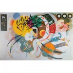 Puzzle  Art-by-Bluebird-Puzzle-60110 Kandinsky - Courbe dominante, 1936