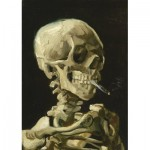 Puzzle  Art-by-Bluebird-Puzzle-60134 Vincent Van Gogh - Head of a Skeleton with a Burning Cigarette, 1886