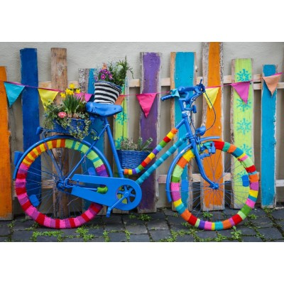 Puzzle Bluebird-Puzzle-70010 My Beautiful Colorful Bike