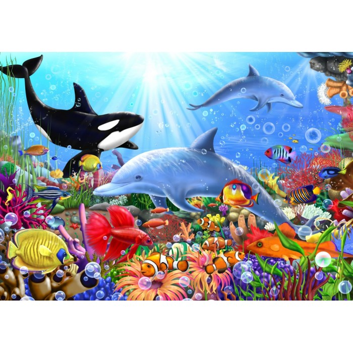Bright Undersea World