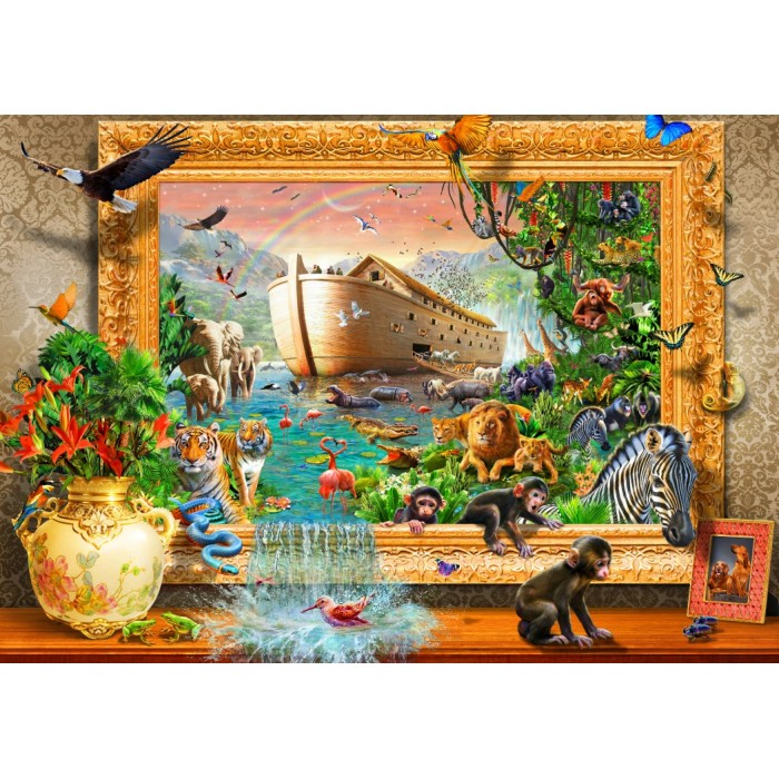 Noah's Ark Framed
