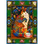 Puzzle  Bluebird-Puzzle-70152 Painted Cat