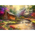 Puzzle  Bluebird-Puzzle-70206 Brookside Retreat