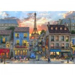 Puzzle  Bluebird-Puzzle-70253-P Streets of Paris