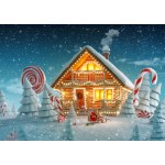 Puzzle  Bluebird-Puzzle-70365 Christmas Cottage