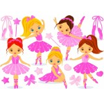Puzzle  Bluebird-Puzzle-70403 Little Ballerinas