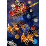 Puzzle  Bluebird-Puzzle-70445 Santa Claus is arriving!