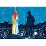 Puzzle   Edvard Munch - Two People: The Lonely Ones, 1899
