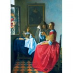 Puzzle   Vermeer- The Girl with the Wine Glass, 1659