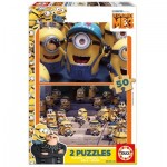 2 Holzpuzzles - Minions