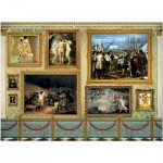 Puzzle  Educa-17137 Museum Master Pieces