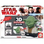 Educa-17801 3D Puzzle Sculpture - Star Wars Yoda