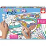 Educa-17827 Colouring Puzzles - Meerestiere