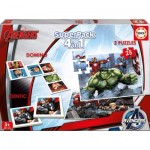 Puzzle   Superpack 4 in 1 - Marvel Avengers