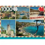 Puzzle  Jumbo-18836 Greetings from Mallorca