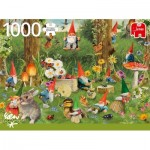 Puzzle  Jumbo-18841 Gnomes at The Forest Edge