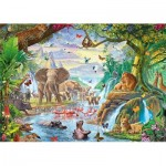 Puzzle   XXL Teile - Jungle Lake