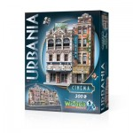 Wrebbit-3D-0502 3D Puzzle - Urbania Collection - Cinema