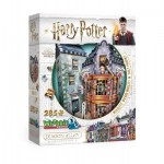 Wrebbit-3D-0511 3D Puzzle - Harry Potter - Weasleys' Wizard Wheezes & Daily Prophet