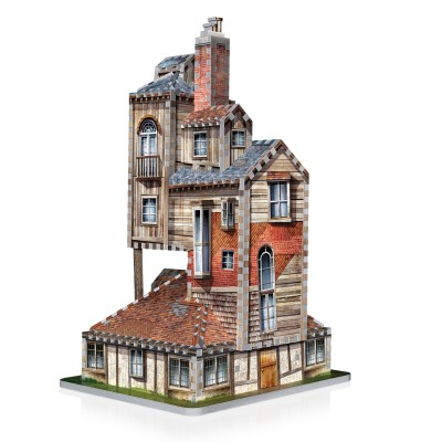 Wrebbit-3D-1011 3D Puzzle - Harry Potter (TM): The Burrow - Weasley Family Home