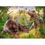 Puzzle  Castorland-018413 Dinosaurier