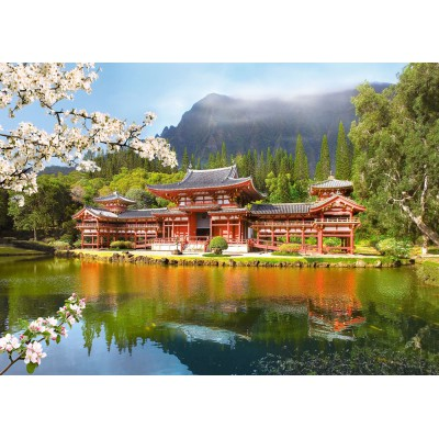 Puzzle Castorland-101726 Alter Byodo-In Tempel