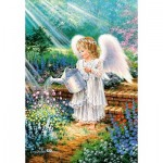 Puzzle  Castorland-103881 An Angel's Gift