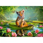 Puzzle  Castorland-13296 Tiger Lily