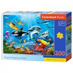 Puzzle  Castorland-222094 Tropical Underwater World