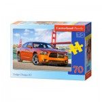 Puzzle  Castorland-B-007103 Dodge Charger RT