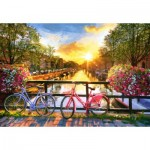 Puzzle   Picturesque Amsterdam with Bicycles