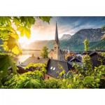 Puzzle   Postcard from Hallstatt