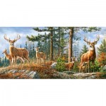 Puzzle   Royal Deer Family