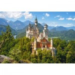 Puzzle   View of the Neuschwanstein Castle