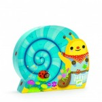 Puzzle  Djeco-07219 Snail goes plant picking
