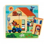 Holzpuzzle - Chez Gaby
