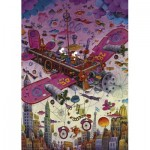 Puzzle  Heye-29887 Guillermo Mordillo - Fly With Me!